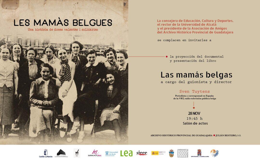 Proyección del documental y presentación del libro «Las mamas belgas» Sven Tuytens